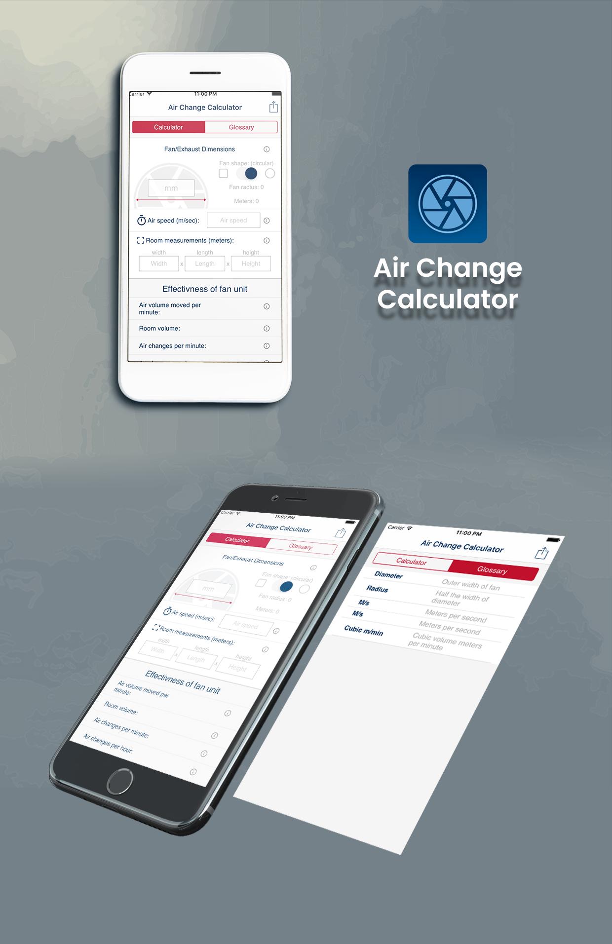 Air Change Calculator