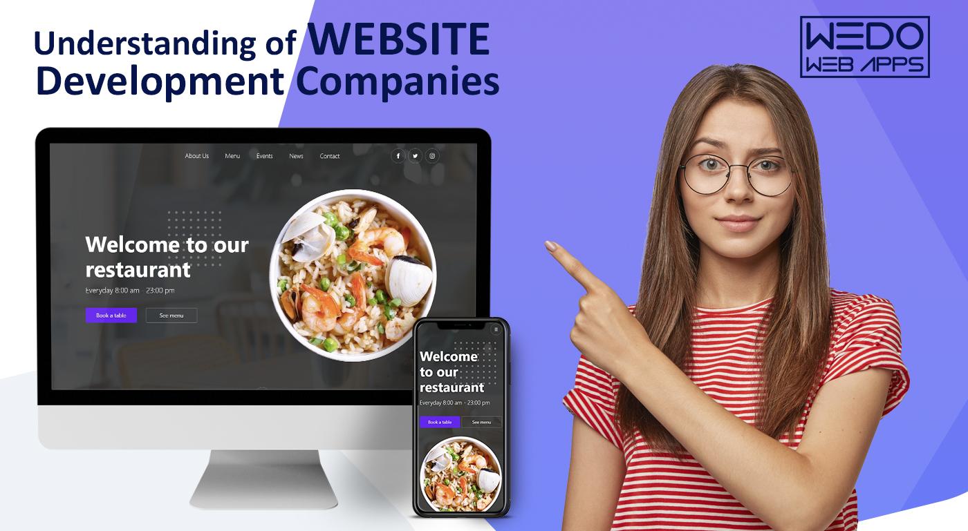 Understanding of Website development companies
